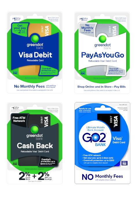 Green Dot - Cash Back Mobile Account & Debit Cards