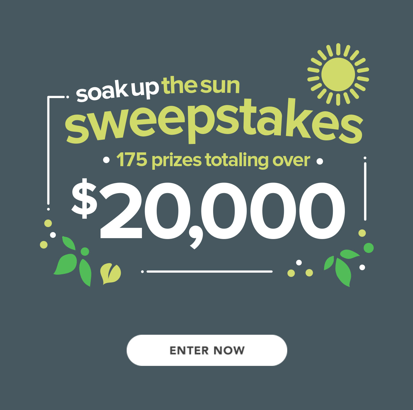 soak up the sun sweepstakes enter now