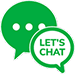 Green Dot let's chat online button