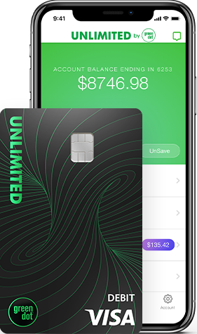 Green Dot Unlimited Card and Phone App